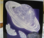 *NEW* 3-D Saturn Crystal Puzzle